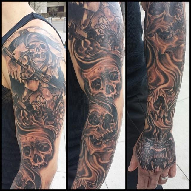travis broyles tattoo everett tattoo artist niteowl