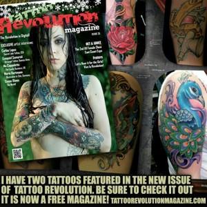 Tattoo Revolution Magazine - Uk Tattoo Magazine - Travis Broyles Featured
