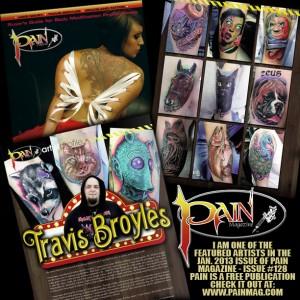 Pain Magazine - Featured Artist - Travis BroylesPain Magazine - Featured Artist - Travis Broyles